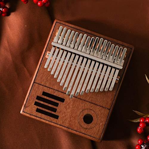 Kalimba, Daumenklavier 17 NEUE Keys Kalimba Daumenklavier Mahagonikorpus Daumenklavier Praktische Musikinstrument (Color : BA211)