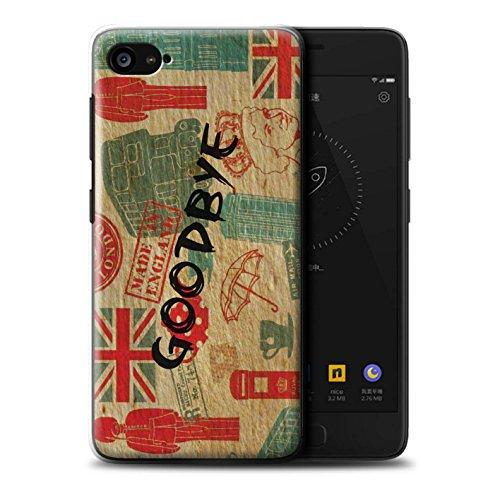 Stuff4 Phone Case/Cover/Skin/lnv de CC/Great Britain/British Pride Collection Auf Wiedersehen Europa Lenovo ZUK Z2