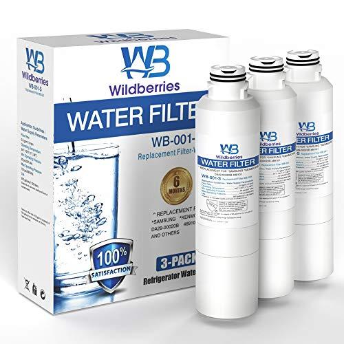 Wildberries - Filtro de agua para frigorífico Samsung DA29-00019A, DA-97-08006a-1 - Filtro de agua compatible con Samsung DA29-00019A, DA-97-08006A-B, HAF-CIN/EXP, Kenmore 46-9101, 3 unidades