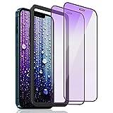 Zuslab Pellicola Protettiva Anti Luce Blu Compatibile con iPhone 12 Pro Max(6.7''),Vetro Temperato,Pacco da 3