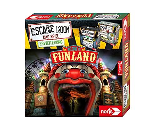 noris 606101618 - Escape Room Erweiterung Welcome to Funland - Nur mit dem Chrono Decoder spielbar - ab 16 Jahren
