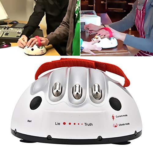 Detector de mentiras Máquina, Micro Choque eléctrico Detector de mentiras Prueba de polígrafo Juguete de dedo Verdad Fiesta Consola de juegos Novedad Juego Interesante Mentira de choque eléctrico