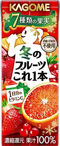 カゴメ 冬のフルーツこれ一本200ml ×24本