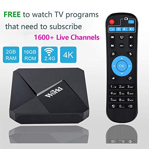 World IPTV Box Receiver Player with Lifetime Subscription Prepaid for Over 1600+ Global Live Channels Arabic Brazil Indian German US European Japanese Korean