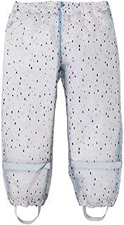 AMIYAN Kids Girls Boys Rain Pants Children Waterproof Breathable Outdoor Trousers Raingear with Reflectors