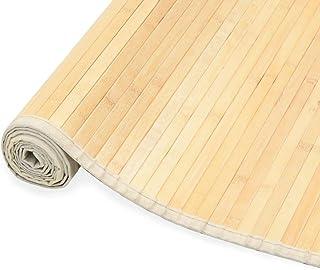 vidaXL Alfombra de Bambú 150x200cm Natural Decoración de Interior Casa Hogar