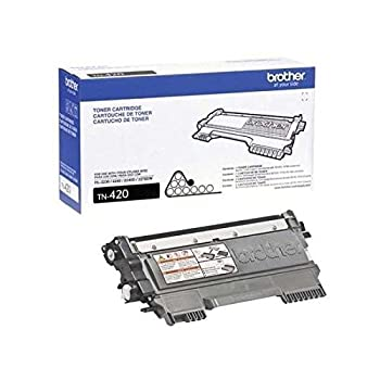 Brother Genuine TN420 3-Pack Standard Yield Black Toner Cartridge with Approximately 1,200 Page Yield/Cartridge