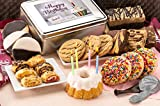 Dulcet Gift Baskets Birthday Party Box, Fresh Cake For Delivery, Perfect Gift For Men-Women-Friends,...