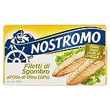 Nostromo Filetti di Sgombro all'Olio di Oliva, 120 gr