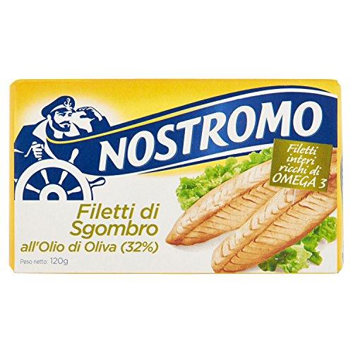 Nostromo Filetti di Sgombro all Olio di Oliva, 120 gr