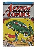 Loot Crate DX Action Comics No. 1 Superman Metal Sign Exclusive January 2017