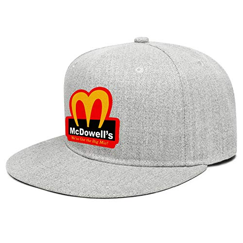 2021-Coming-To-America-Movie-McDowell's- Boys Fedora Outdoor Cap ColorName Sports Hats
