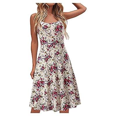 Amazon - Save 80%: Jesaisque Women's Fashion Casual V-Neck Short Sleeve Strap Open Back Sexy Pri…