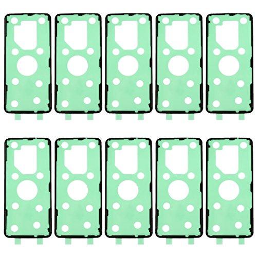 Chengcunxing Herramientas de reparación, Completamente en Forma Reemplazar 10 PCS for Galaxy S9 + Volver Trasera Cubierta de la Cubierta Adhesiva