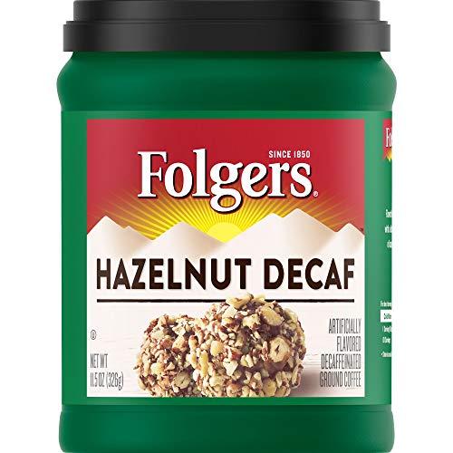 Folgers Hazelnut Decaf Flavored Ground Coffee
