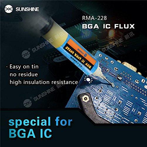 Quick Bobina Filo Saldatura Stagno 0.4 MM SN 63/% P 37/% Professionale 90 GR CONNETTORE Smartphone Tablet BOMAItalia