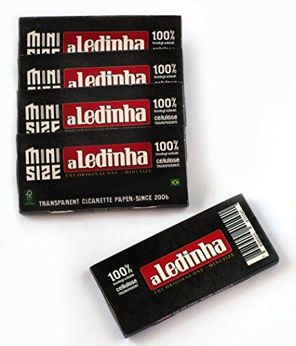 5 folletos - aLeda aLedinha MINI tamaño claro Celulosa laminado De papel de Brasil - 250 documentos
