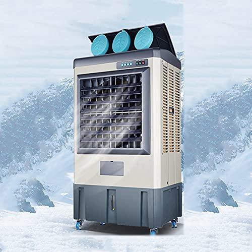 SWSPORT Climatizador Evaporativo, Aires Acondicionados Móviles, Calefactor, Ventilador, Y Deshumidificador, con Ruedas Y 45 L Tanque De Agua, para Hogar Oficina,Mechanical