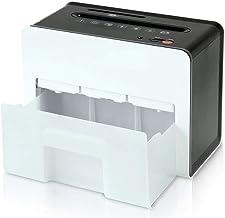 $444 » Shredder for Home/Office Portable Hand Shredder,Tabletop Paper Shredder,4 Sheet Cross Cut Personal Shredder with Safety Lo...
