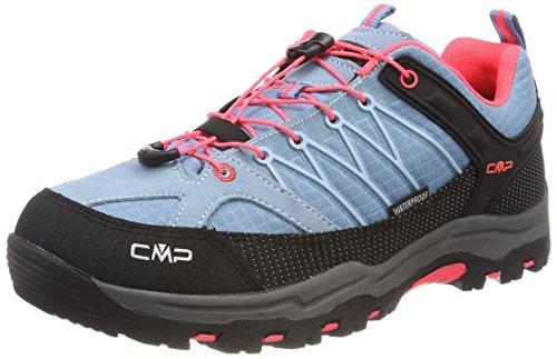 CMP – F.lli Campagnolo Unisex-Erwachsene Rigel Trekking-& Wanderstiefel, Türkis (Clorophilla-Red...