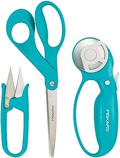Fiskars 154233-1002 Garment Making Starter Kit (3pc), Turquoise