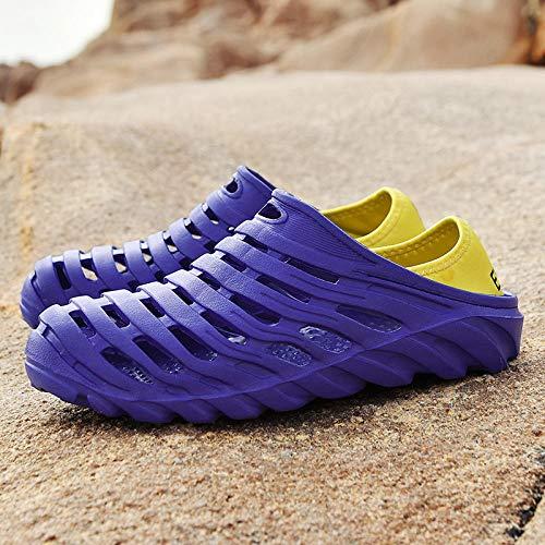garden shoes,clogs de baño ,Sandalias huecas para hombres de verano,zuecos de viaje,zapatillas...
