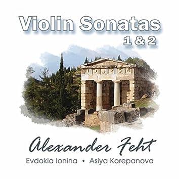 Alexander Feht: Violin Sonatas 1 & 2