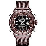 NAVIFORCE Digital Watch Men Waterproof Sports...