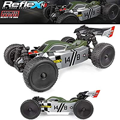 Team Associated 20175 Reflex 14B Ready to Run Electric Buggy, 1/14 Scale, 4WD