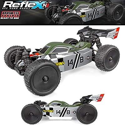 Team Associated 20175 Reflex 14B Ready to Run Electric Buggy, 1/14 Scale, 4WD