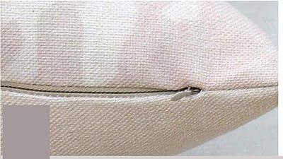 JOTOM Funda de Almohada de Lino de algodón,sofá Funda de ...