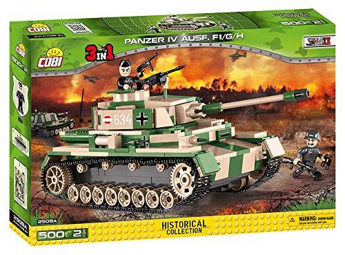 COBI- Panzer IV Ausf. F1/G/H, Multicolore, 2508