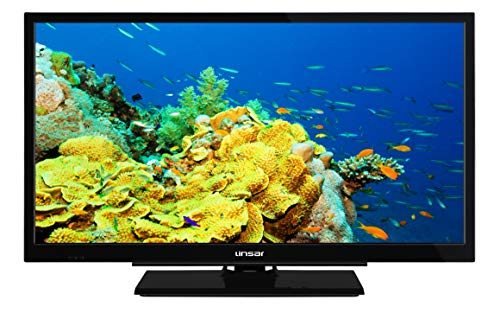 Linsar 24LED5000 24-inch LED Smart TV with DVD player, HD Ready, Freeview Play, Black (Energy Class A+)