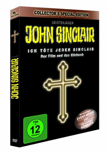 John Sinclair Doppel-Pack: Ich töte jeden Sinclair (Spielfilm+Hörbuch) [Special Collector's Edition] [3 DVDs] [Special Edition]