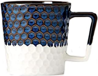 2017 Siren Scales Anniversary Collection Navy Blue and White Ceramic Mug 12oz