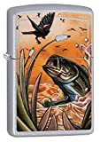 """Genuine Zippo windproof lighter with distinctive Zippo """"click"""" All metal construction; Windproof design works virtually anywhere Refillable for a lifetime of use; For optimum performance, we recommend genuine Zippo premiumfuel, flints, and wicks Mad..."""