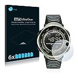 Savvies 6X Schutzfolie kompatibel mit Suunto Vector Khaki Bildschirmschutz-Folie Ultra-transparent