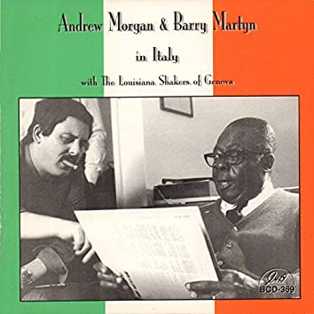 Andrew Morgan and Barry Martyn in Italy