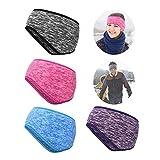 4 Bandas para La Cabeza con Protección para Los Oídos De Vellón para Deportes, Correr, Andar En Bicicleta, Arnés De Protección contra El Frío Y El Calor, Protección para La Frente