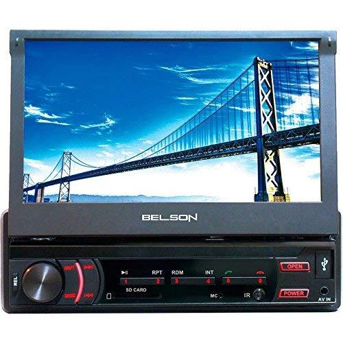 Belson BELSTL-5705KML - Radio para Coche con Pantalla de 7in, Color Negro (Reacondicionado)