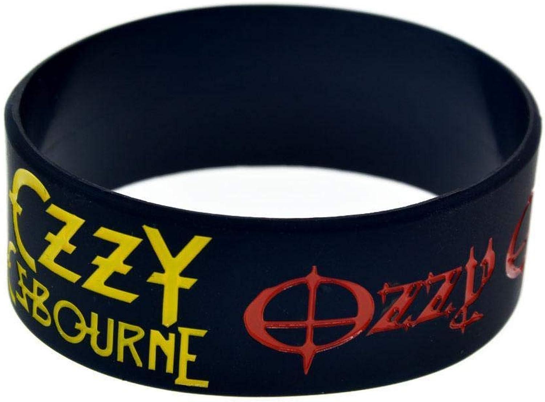 North King Silikon-Armbänder mit mit mit Sprüchen Ozzy Osbourne Kautschuk Armbänder für Herren und Kinder Ermutigung setzen der Stücke B07G5KL1QJ  Freizeit b2692d