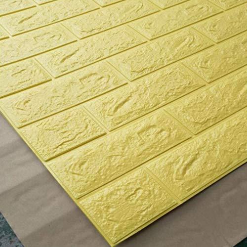 70 * 15 cm Pegatinas de Pared 3D Papel Tapiz de PE Pegatinas de Pared Autoadhesivas Pegatinas de Pared de protección del Medio Ambiente