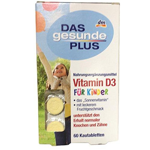 Das gesunde Plus Vitamin D3 für Kinder (60 St)