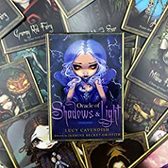 DALIN Oracle of Shadows and Light Full English Party Board Game 45 Cards Deck Tarot #1