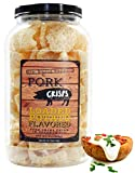 Keto-Friendly Pork Rinds (Loaded Baked Potato Flavor, 8 Ounces),...
