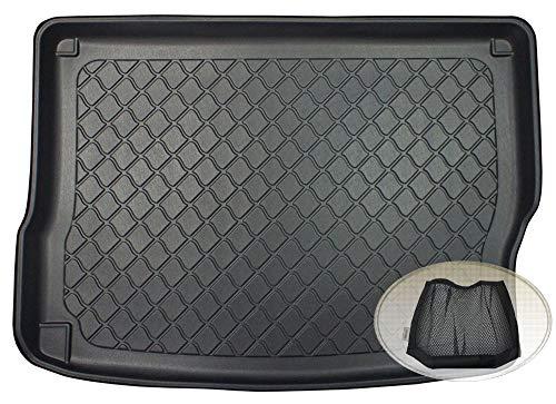 bester Test von kia niro hybrid ZentimeX Z3128442 Spezieller Kofferraumdeckel aus Gummi + Klettverschluss (Stiefel,…
