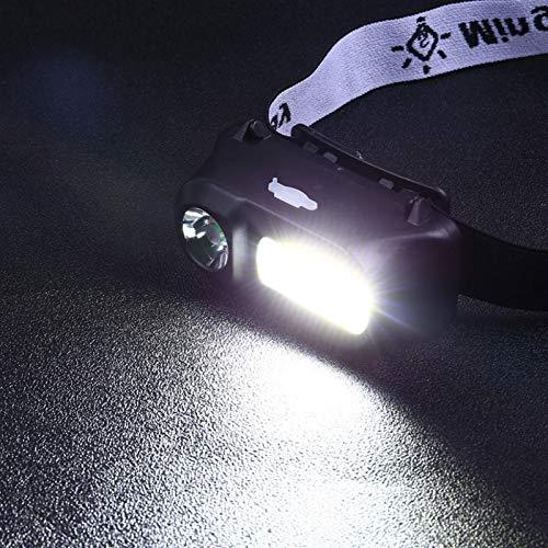 sanshi Lugar Lugar LED Faro Ajustable Linterna Exterior Camping Gadgets Correr Luces For Los Corredores Zzzb (Color : 1)