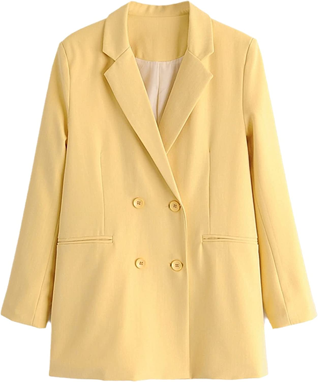 Autumn Winter Women Solid Blazer Long Set Casual Suit Blazer and Pants 3 Piece Set
