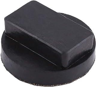 Jack Pad – 1 st svarta domkraftsdynor i gummi verktyg jacking dyna adapter för BMW.