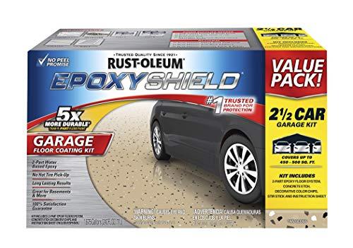 Rust-Oleum 261846 50 Voc - 2.5 Car Epoxy Shield Garage Floor...